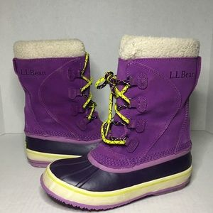 LL BEAN Heavy Lined Winter Boot
